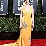 Claire Foy at the 2019 Golden Globes
