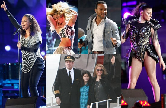 Pictures of the 2010 World Cup Kickoff Celebration Concert