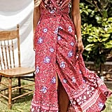 ZESICA Bohemian Wrap Dress