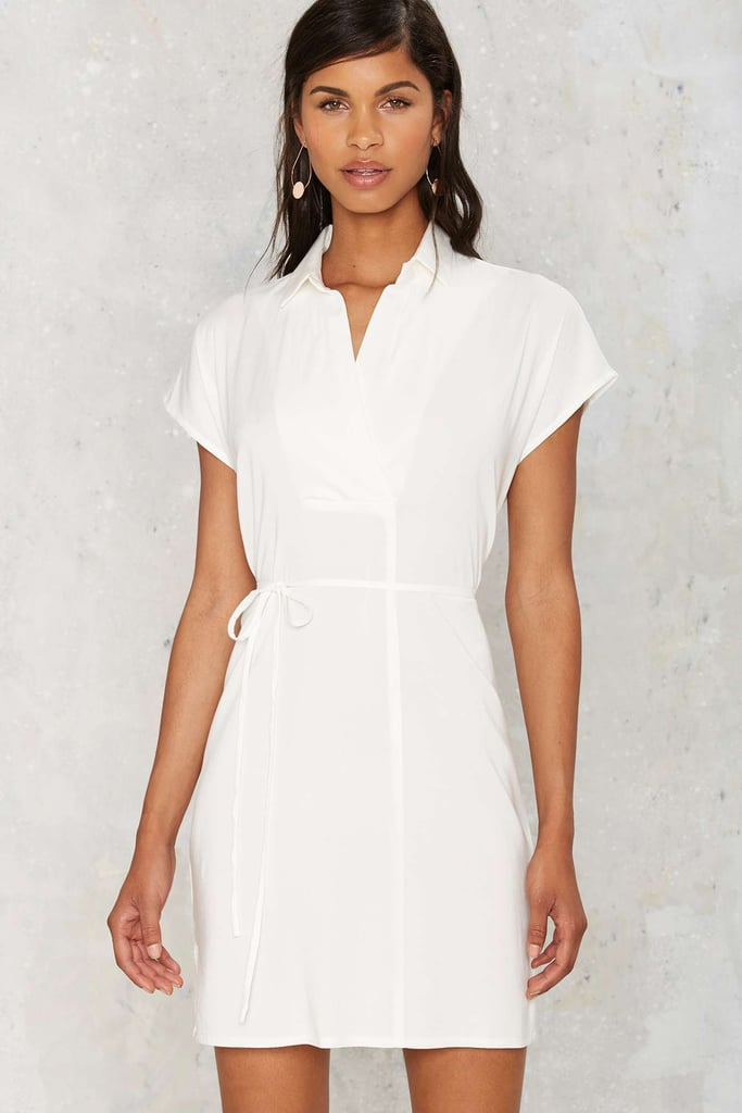 Nasty Gal Clean Break Shirt Dress ($58)