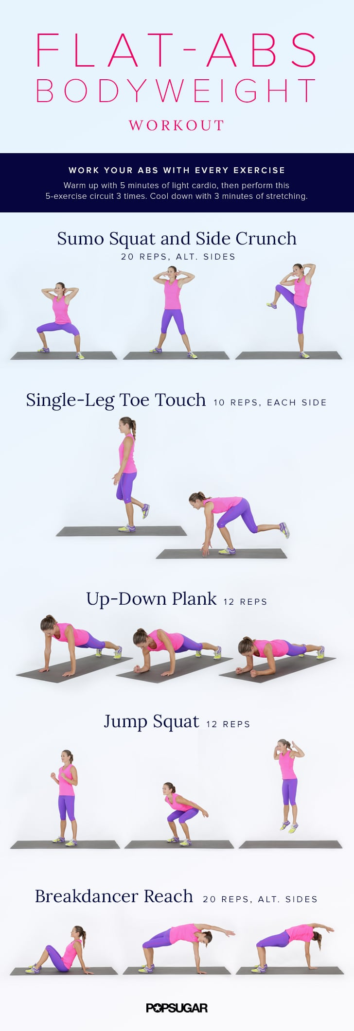 Printable Bodyweight Workouts Popsugar Fitness Australia