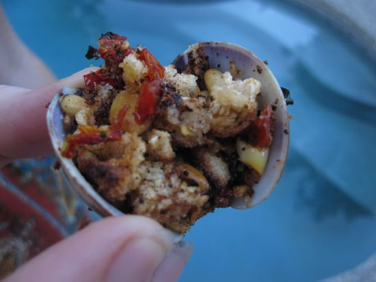Grilled Clams With Basil Breadcrumbs Recipe