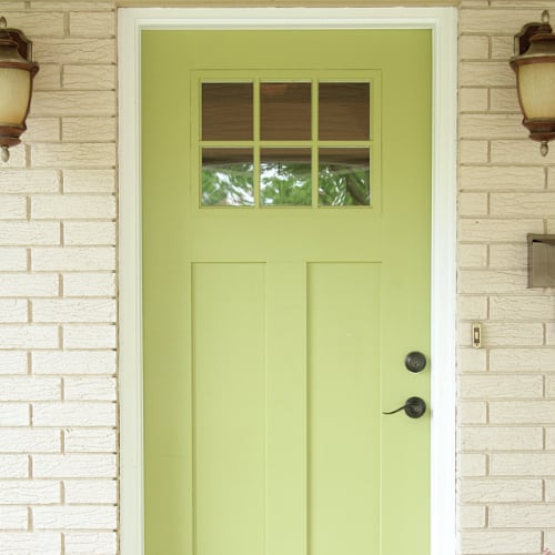 What Paint Colors to Use on Your Front Door