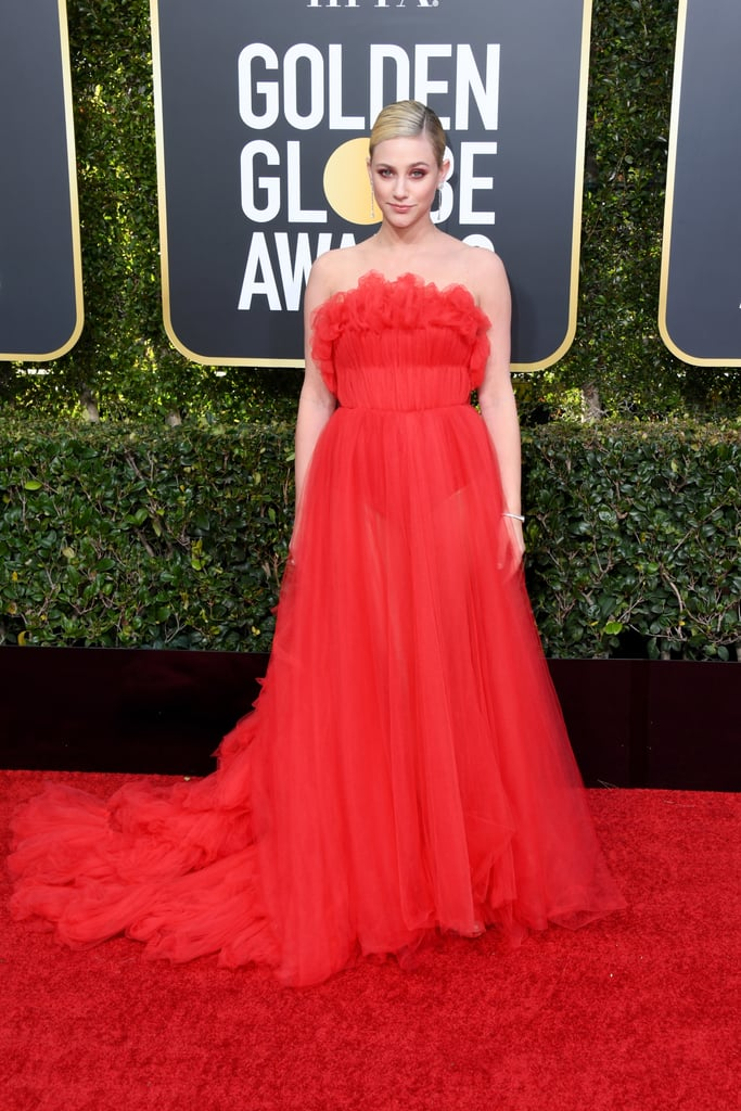Lili Reinhart at the 2019 Golden Globes