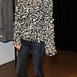 Poppy Delevingne at the London Isabel Marant for H&M preview.