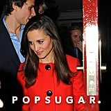 Pippa Middleton left Loulou's with a new guy.