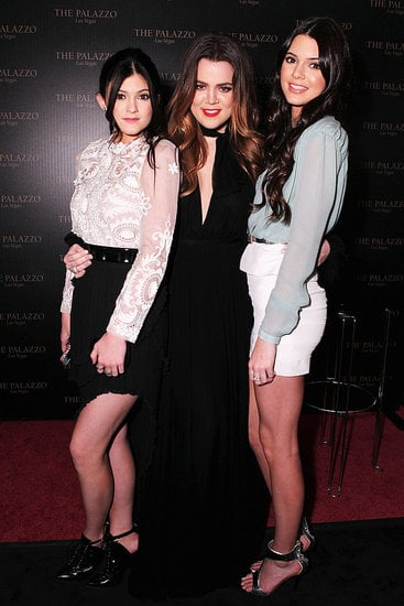 Kylie Jenner, Khloe Kardashian and Kendall Jenner were together at the Hollywood Style Awards on Nov. 13.
