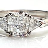 Tiffany & Co. Lucida & Trillion Cut Diamond Engagement Ring