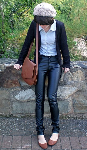 Look of the Day: Lush Leather