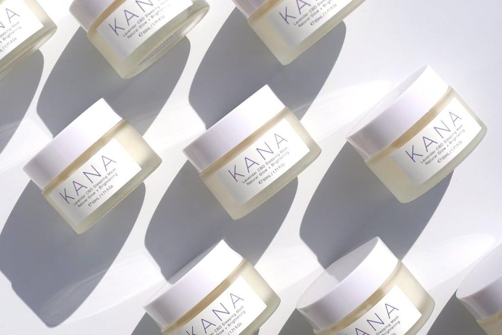 Kana Skincare's Lavender CBD Sleeping Mask