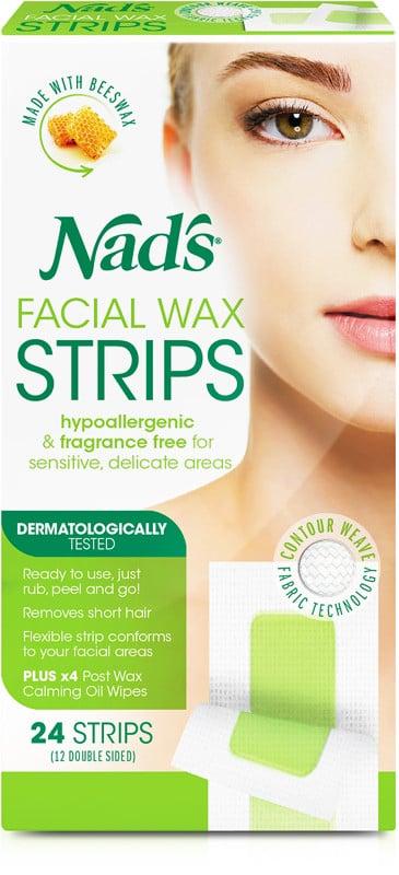 Nads Natural Facial Hair Removal Strips