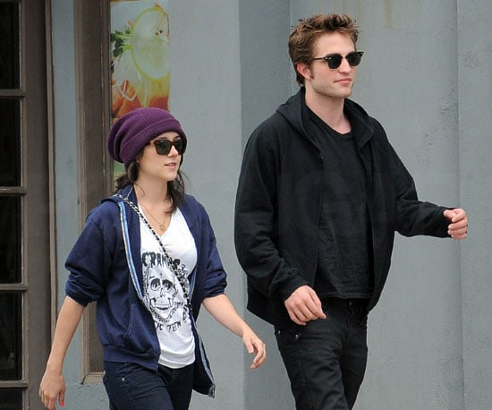 Photo of Robert Pattinson and a Mystery Girl Taking a Walk in LA