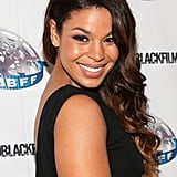 At the Hollywood Black Film Festival, Jordin Sparks went for a glamorous sideswept style that really showed off her subtle ombré (and the plunging back of her dress).