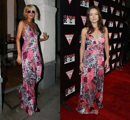 Who Wore It Better? Pink Printed Patio Dress