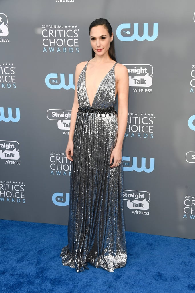 Gal Gadot's Dress at the 2018 Critics' Choice Awards