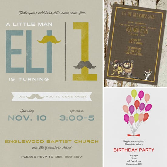 Digital Birthday Party Invitations For Kids POPSUGAR Moms