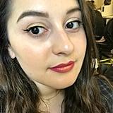 Tarte Liquid Chrome Paint on Lips