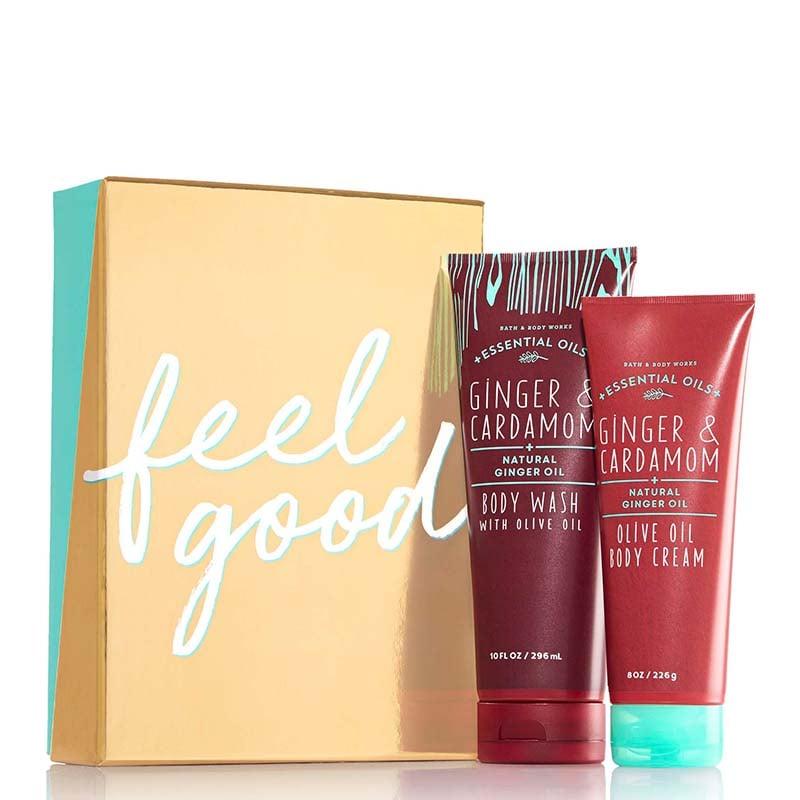 Bath & Body Works Feel Good Essential Oils Gift Set