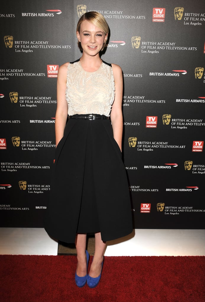 Carey Mulligan in Preen at the 2010 BAFTA Los Angeles Awards