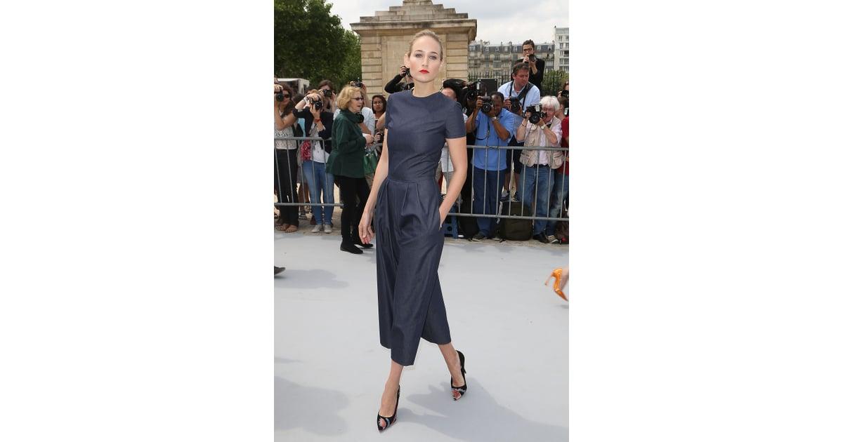 e69076d3d5a8 Leelee Sobieski showed off a Dior blue denim
