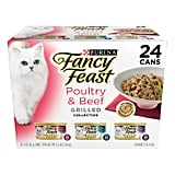 Purina Fancy Feast Grilled Poultry & Beef Collection Wet Cat Food Variety Pack
