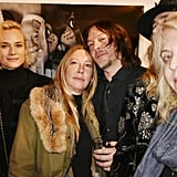 Norman Reedus and Diane Kruger Get Cozy at an Art Exhibition in Paris