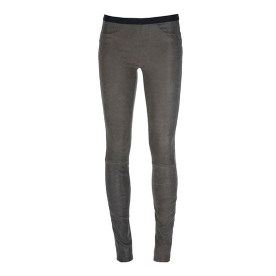 Just when I thought Helmut Lang couldn't improve on their perfect leather leggings, they go and introduce this dreamy grey-option to the mix! Such a nice departure from boring black. —Marisa, publisher Pants, approx $978, Helmut Lang at Far Fetch