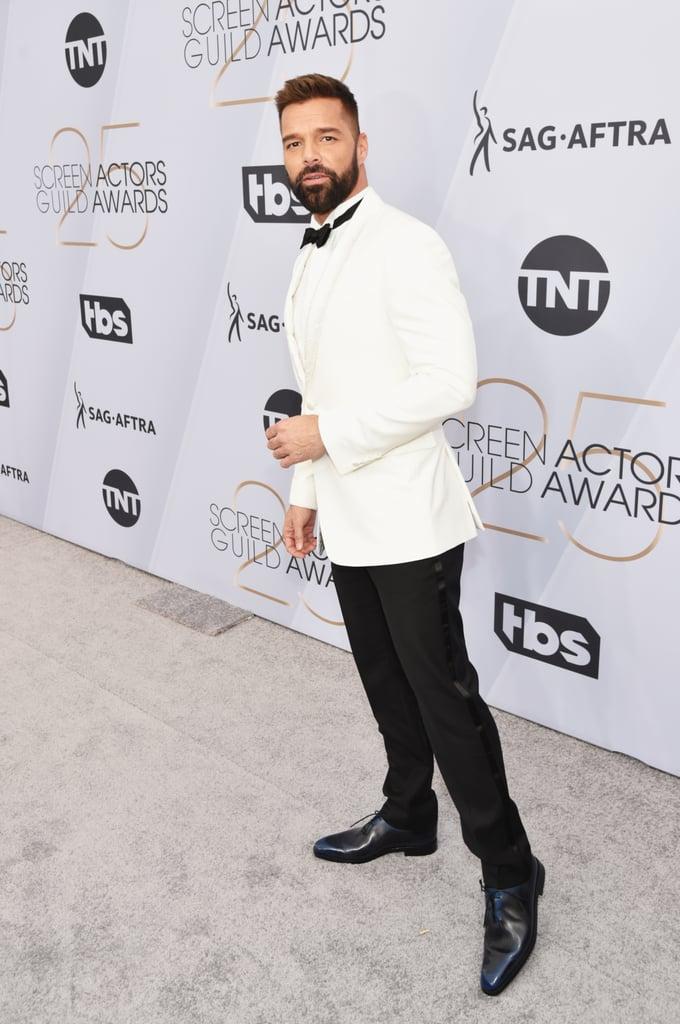 Ricky Martin at the 2019 SAG Awards