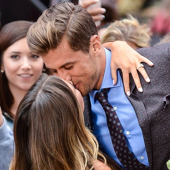 JoJo Fletcher and Jordan Rodgers Kissing in NYC 2016
