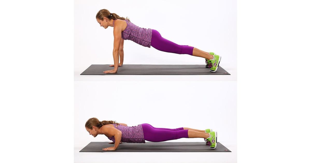 Upper Body: Push-Up | Best Bodyweight Exercises | POPSUGAR ...