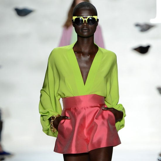 Pictures and Review of Diane Von Furstenberg Spring Summer New York Fashion Week Runway Show