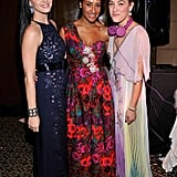Katy Perry, Kim Chandler, and Mia Moretti posed at the Unicef Snowflake Ball in NYC.