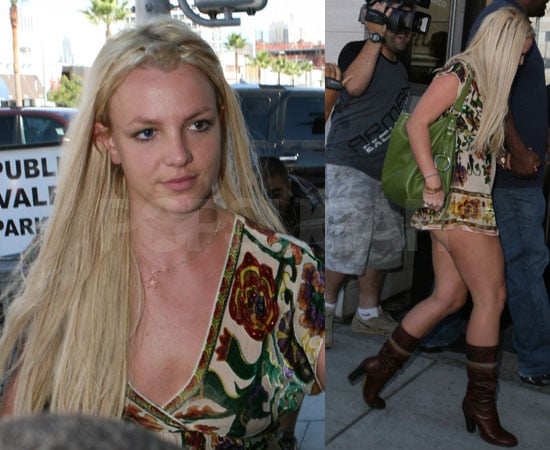 Britney Forgets Half Her Outfit