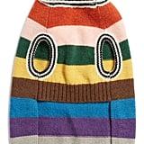 LoveThyBeast Dark Rainbow Wool Dog Sweater