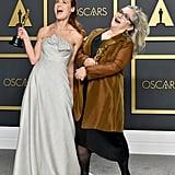 Carol Dysinger and Elena Andreicheva at the 2020 Oscars