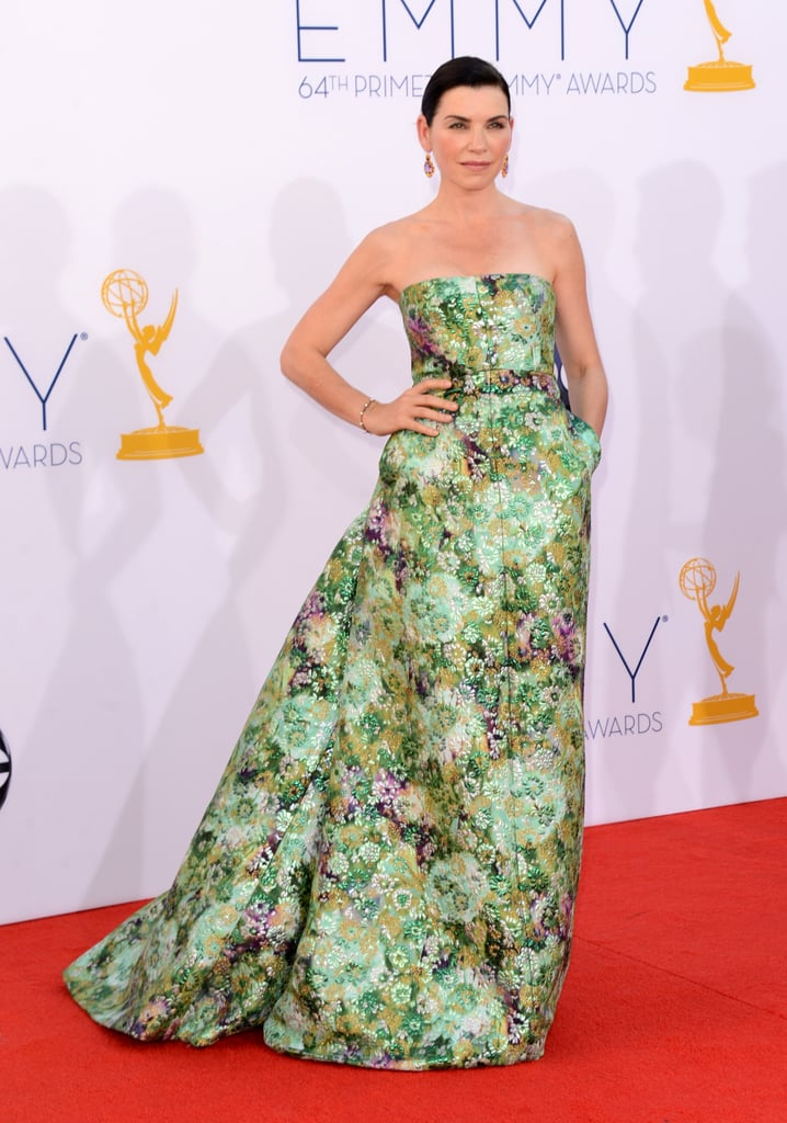 Julianna Margulies Goes Floral For the Emmys