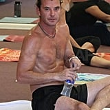 Pictures of Gavin Rossdale Shirtless