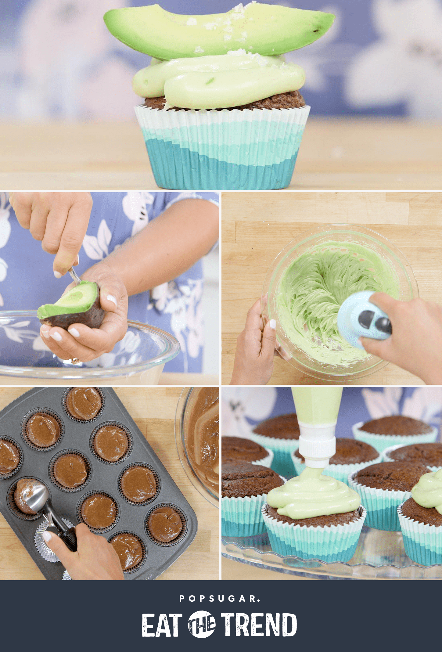 Avocado Cupcakes Are the Sweet Way to Fuel Your Avocado Obession