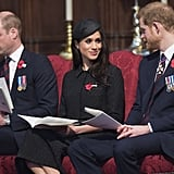 April: He and Meghan Attended Their First Sunrise Service Together