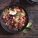 Tuna Pasta With Labneh Recipe