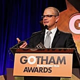 Matt Damon was on stage at the Gotham Independent Film Awards.