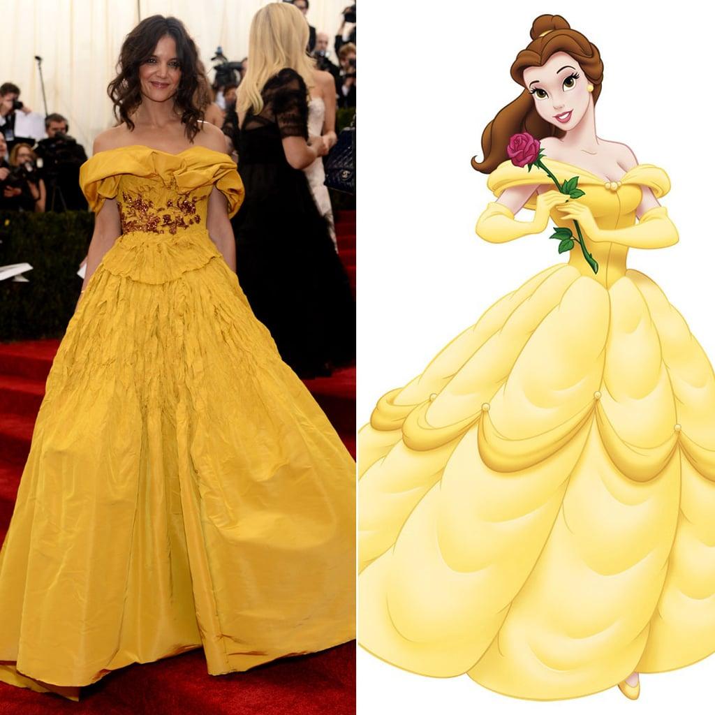 Disney Princess Dresses at the 2014 Met Gala