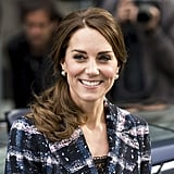 Kate Middleton's Hair in Topsy Tail Ponytail