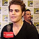 "Paul Wesley Wants to Make His Portrayal of Silas ""Lighter"" on The Vampire Diaries"