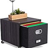 BirdRock Home Rolling File Cabinet