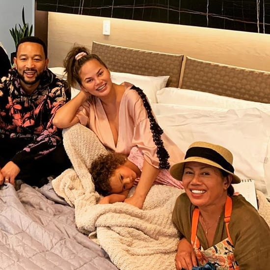 Chrissy Teigen's First Look at Baby Boy on 3D Ultrasound