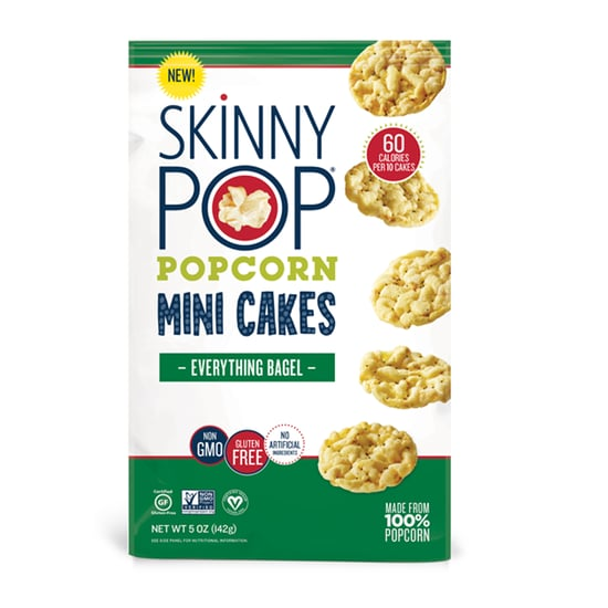 SkinnyPop Everything Bagel Mini Cakes