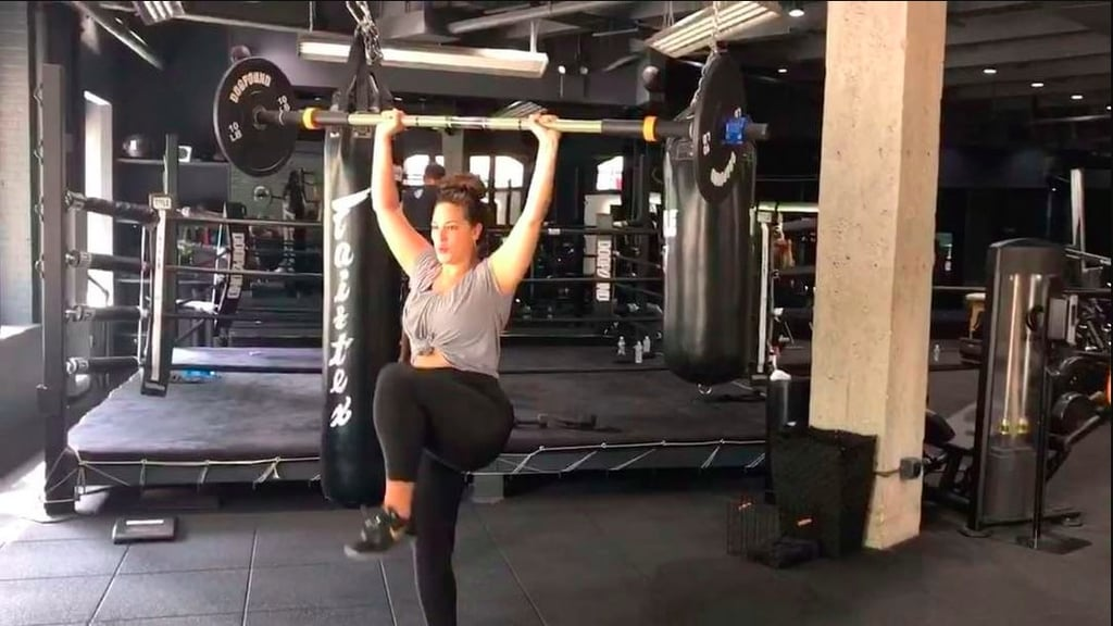 Ashley Graham Gym Instagrams
