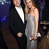 Paul Haggis and Petra Nemcova attended the Haiti: Carnival in Cannes event.