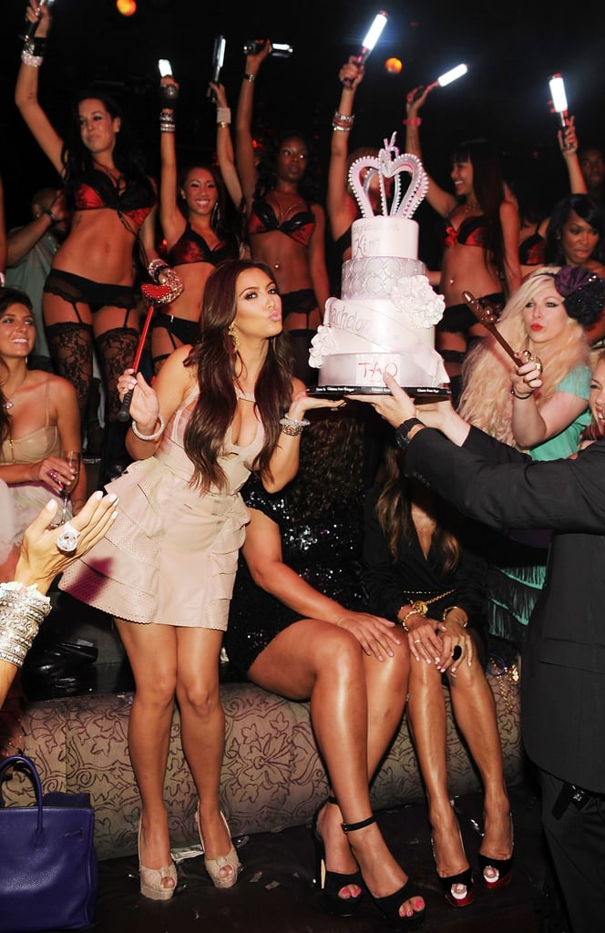 She was joined by family, friends, and fans for her bachelorette party at Tao Las Vegas in July 2011.